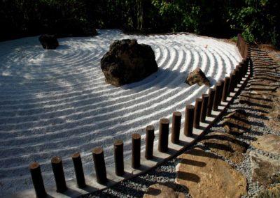 Jardim zen - foto Seido